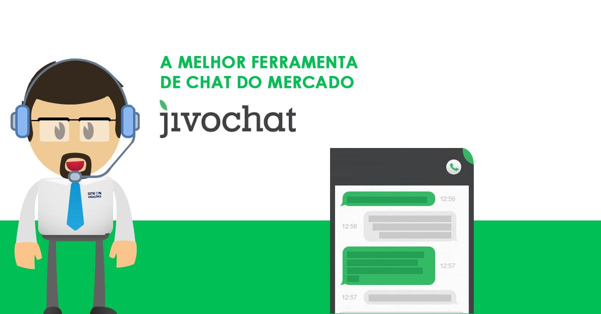 JivoChat é a melhor ferramenta de chat online