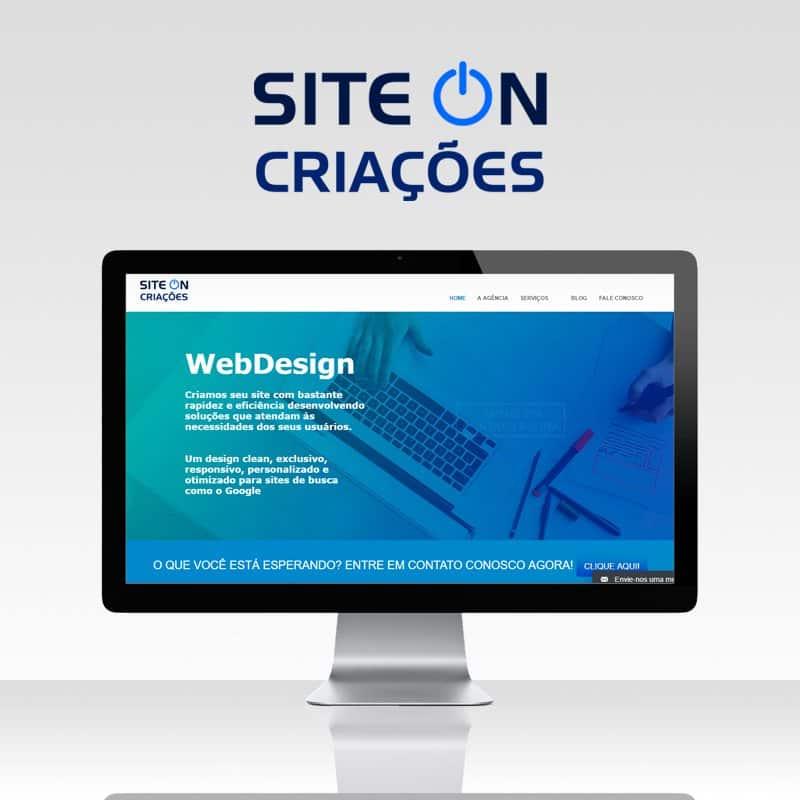 Site ON Criações