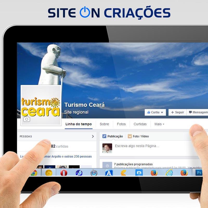 Turismo Ceará Mídias Sociais