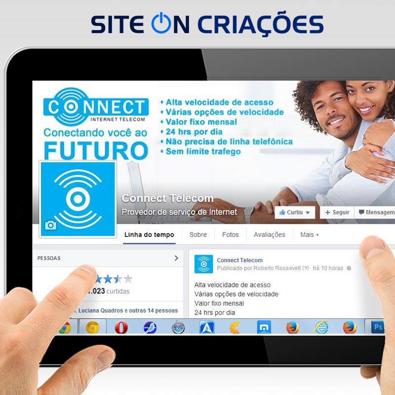 Connect Telecom Mídias sociais