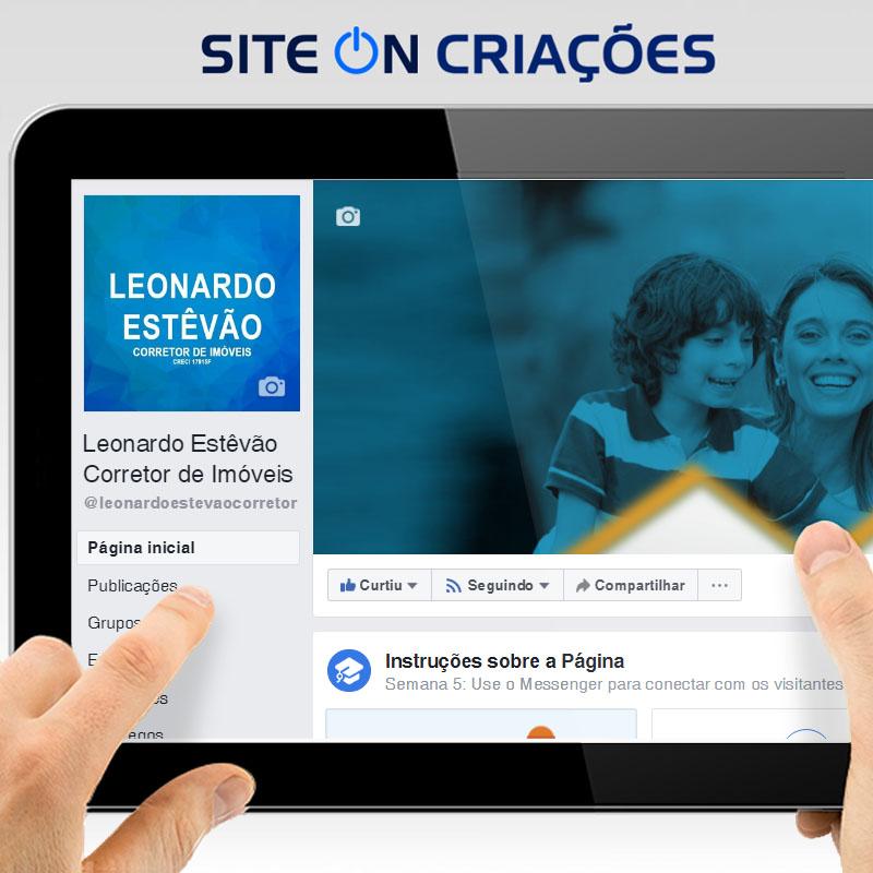Leonardo Estêvão Corretor de Imóveis Mídias Sociais