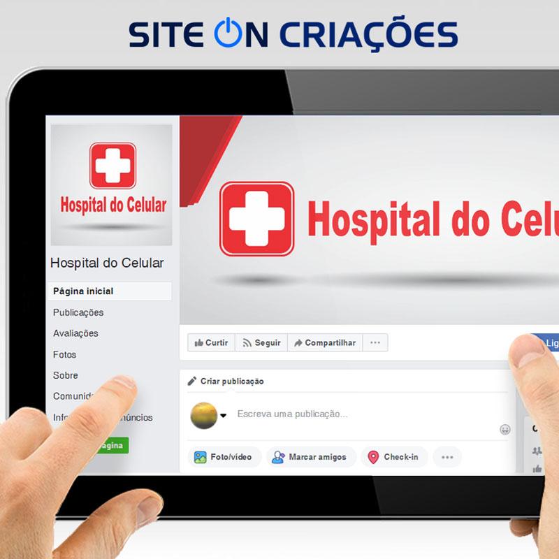 Hospital do Celular Mídias Sociais